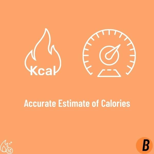 Accurate Estimate of Calories