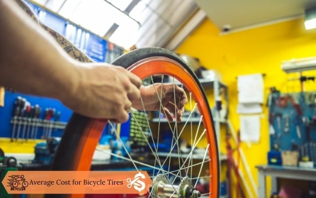 Average Cost for Bicycle Tires