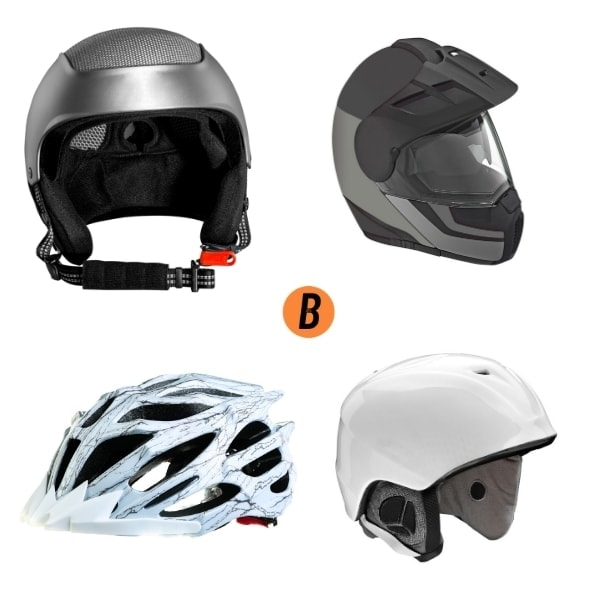 Types of Helmet
