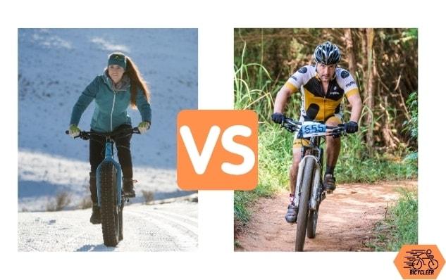 Fat Bike Vs. Mountain Bike