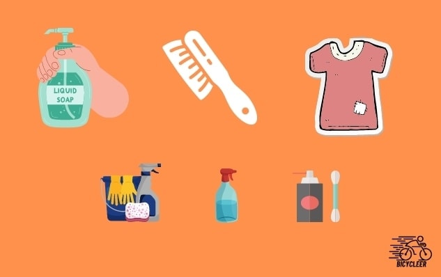 Household Products You Can Use for cleaning bike chain