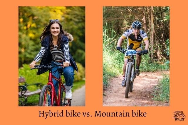 Hybrid bike vs. Mountain bike