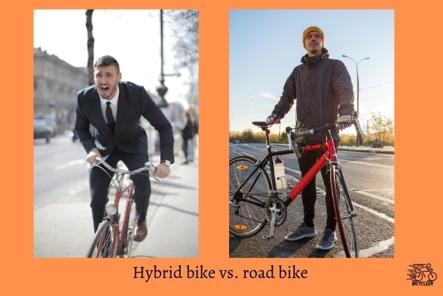 Hybrid bike vs. road bike