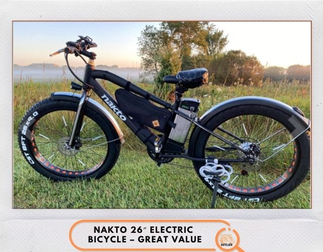 NAKTO 26″ Electric Bicycle – Great Value