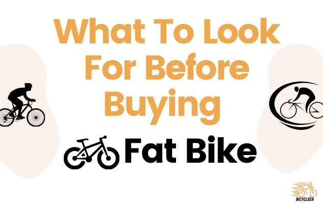 What To Look For Before Buying Fat Bike