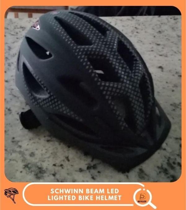 Schwinn Beam LED Lighted Bike Helmet