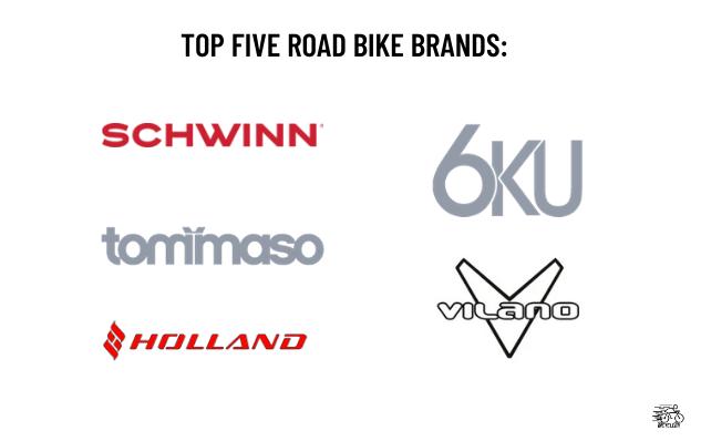 Top Five Road Bike Brands