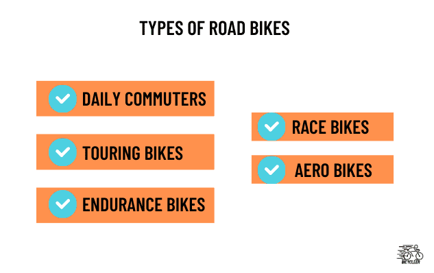 Types of Road Bikes