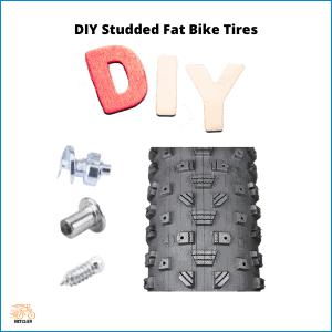 DIY Studded Fat Bike Tires
