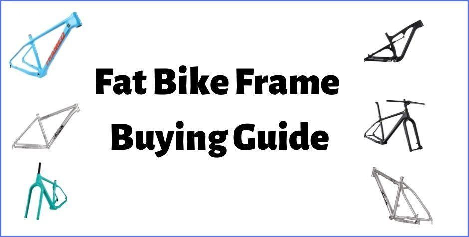 Carbon Fiber or Steel Fat Bike Frame