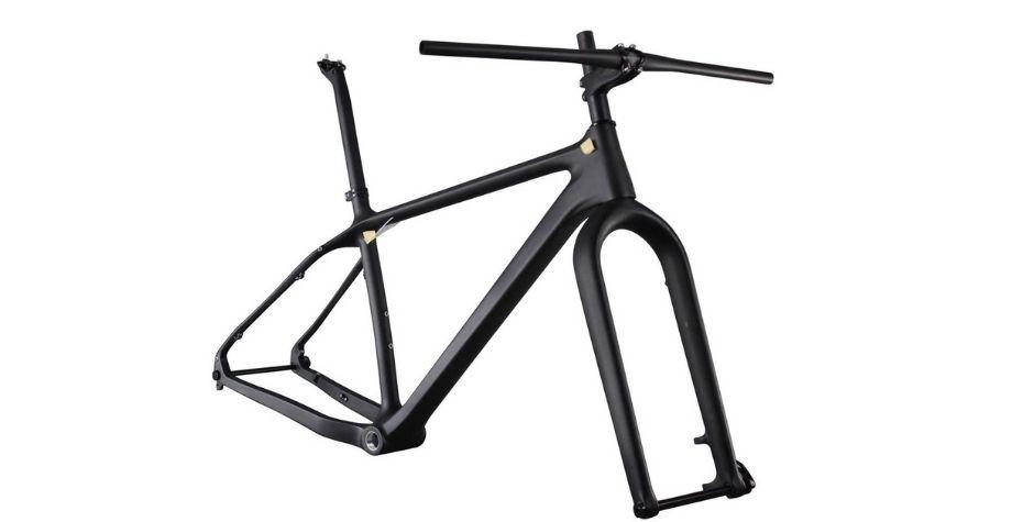 ICAN 26er Carbon Fat Tire Bike Frame Set 150 x 15mm