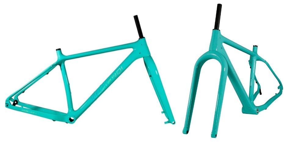 ICAN SN01 26er Carbon Fat Tire Snow Bike Fatbike Frameset